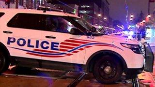 DC Police Car Generic Night 2015