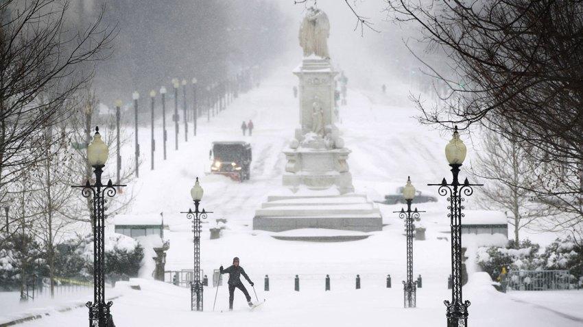 Washington D.C. Snowstorm Blizzard