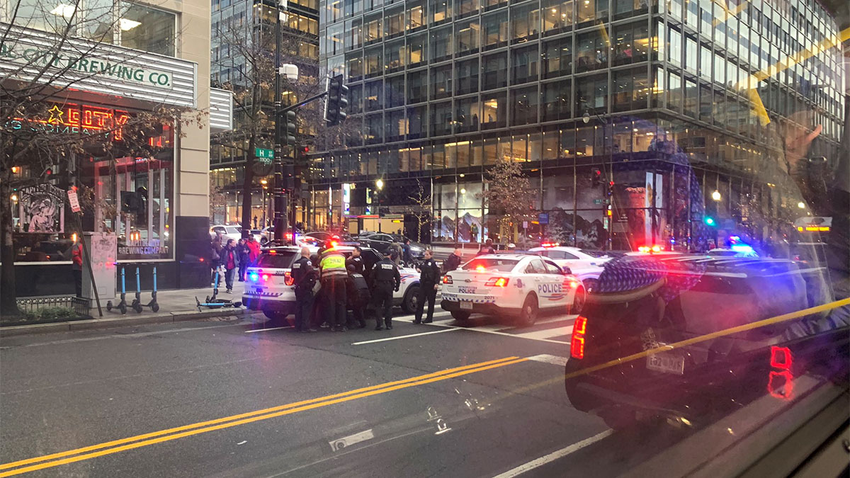Man Shot to Death in Busy Area of Downtown DC