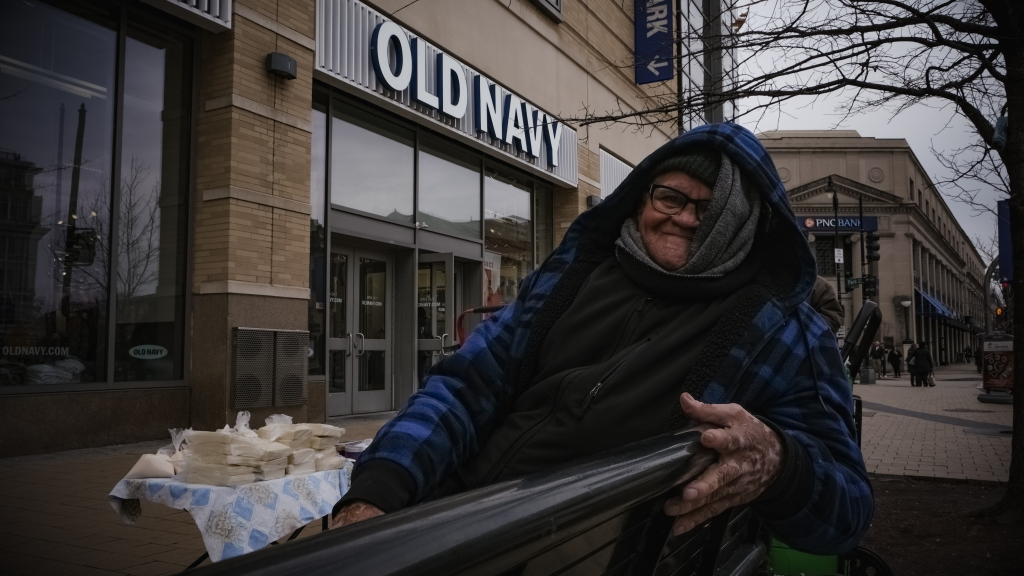 Jose Benitez is a street vendor in DC