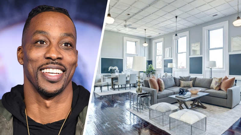 Photos: Dwight Howard's DC Schoolhouse-Turned-Penthouse Listed for Nearly $2.5M