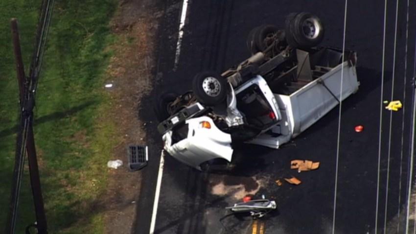 Dump Truck Crash Georgetown Pike 041217