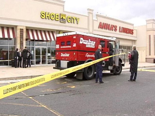 Dunbar Armored Car Truck Robbery
