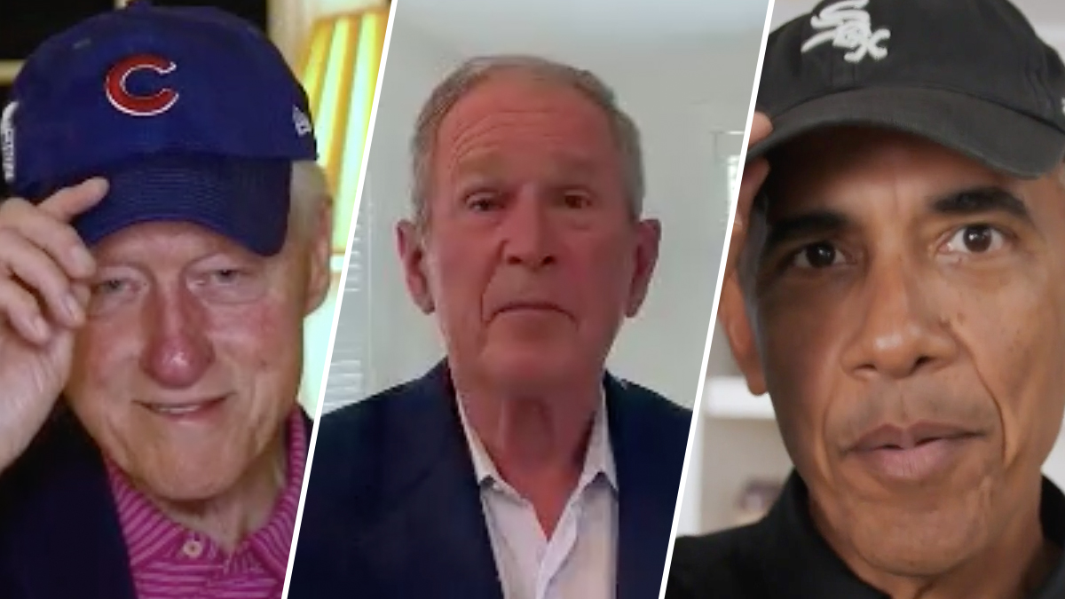 Former Presidents Unite to Pay Tribute to 100th Anniversary of Negro Leagues