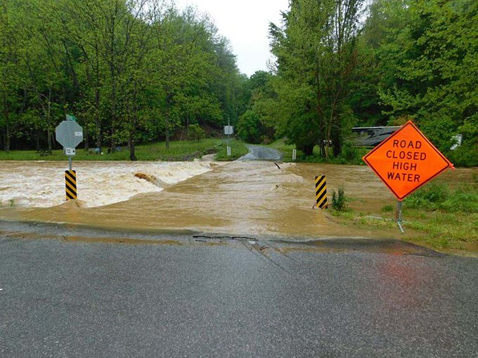 Rain Prompts Evacuations, Concerns About a Dam in Roanoke