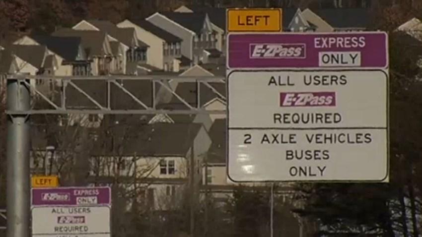 EZ pass virginia express lanes