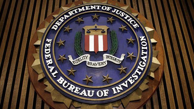 FBI Logo Cargos