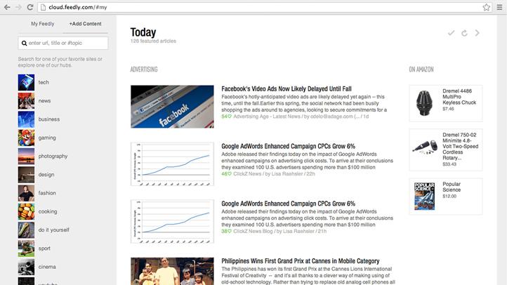 Tech Test Digital Life Google Reader Alternatives