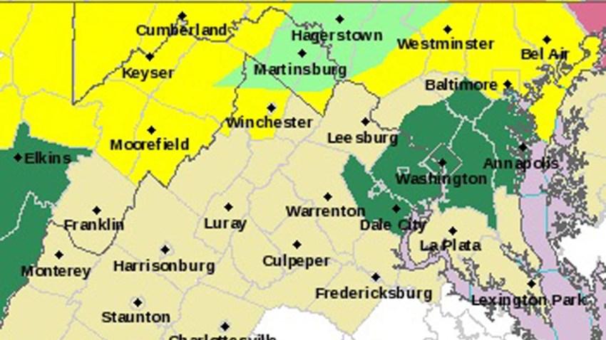 Flash Flood Watch Map 070915