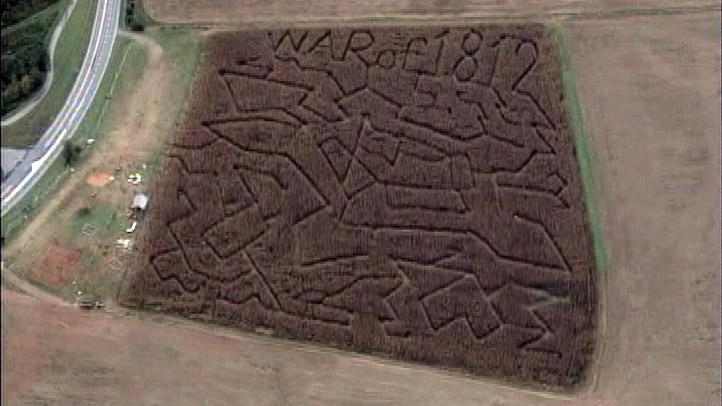 Fort McHenry War of 1812 corn maze