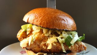 Fried chicken sandwich - Melody