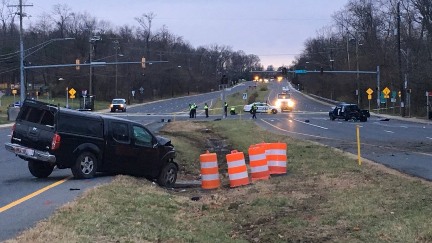 Georgia Ave fatal crash