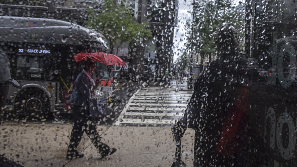 Memorial Day Weekend Gets Soggy, Stormy Start