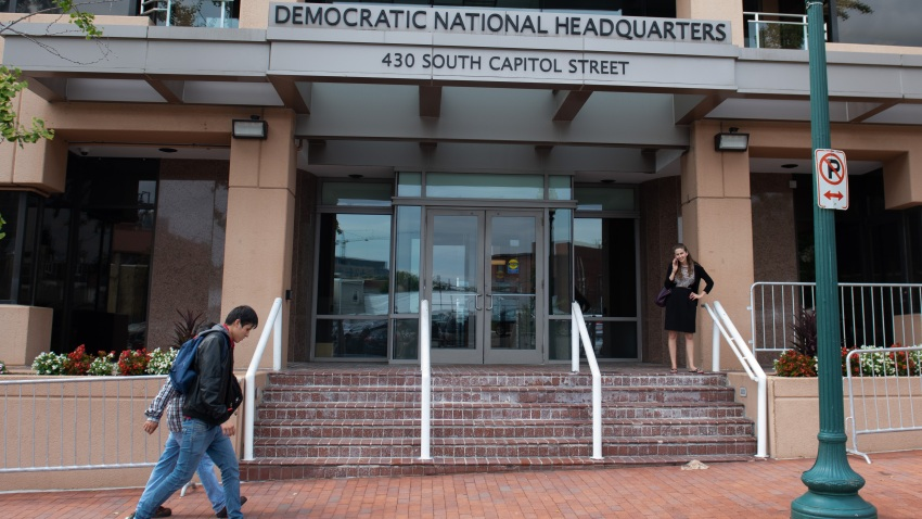 Democratic National Committee headquarters in Washington