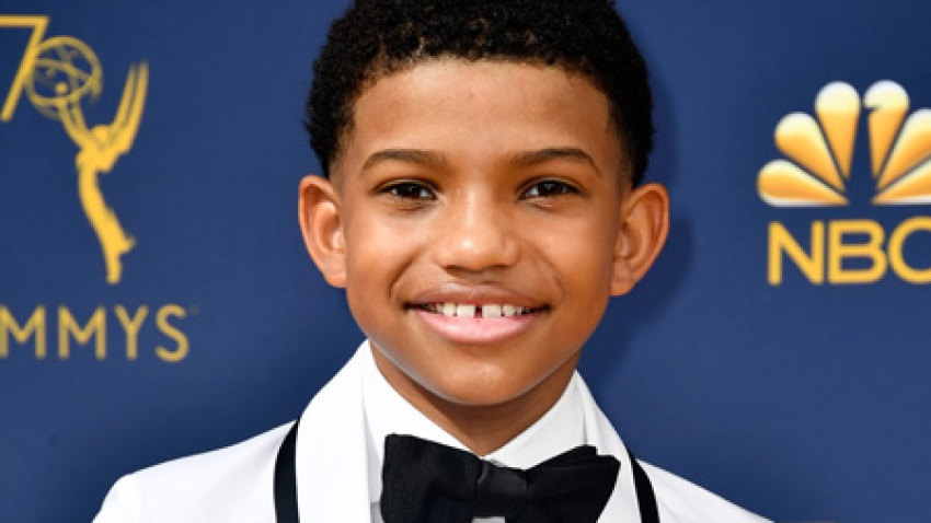 Lonnie Chavis attends the 70th Emmy Awards at Microsoft Theater on September 17, 2018 in Los Angeles, California.