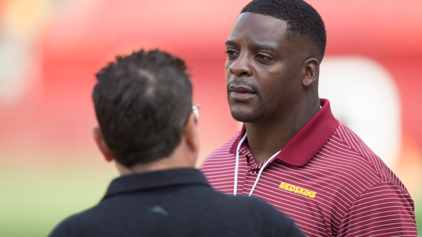 Former Washington Redskins running back Clinton Portis