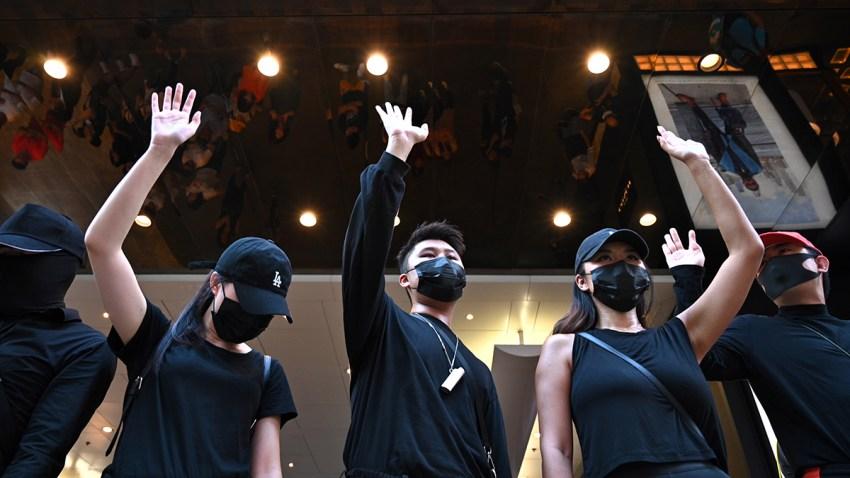 Hong Kong Mask Ban Protests