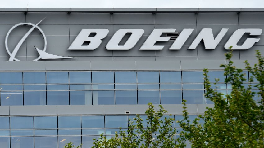 In this April 29, 2020, file photo, the Boeing regional headquarters is seen amid the coronavirus pandemic in Arlington, Virginia.