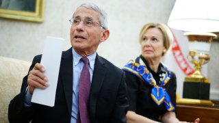 Dr. Anthony Fauci at the White House