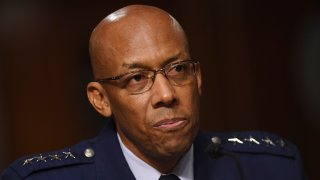 Gen. Charles Q. Brown, Jr. testifies on his nomination to be Chief of Staff, United States Air Force before the Senate Armed Services committee, May 7, 2020, on Capitol Hill in Washington D.C.