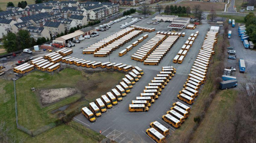 Maryland school buses