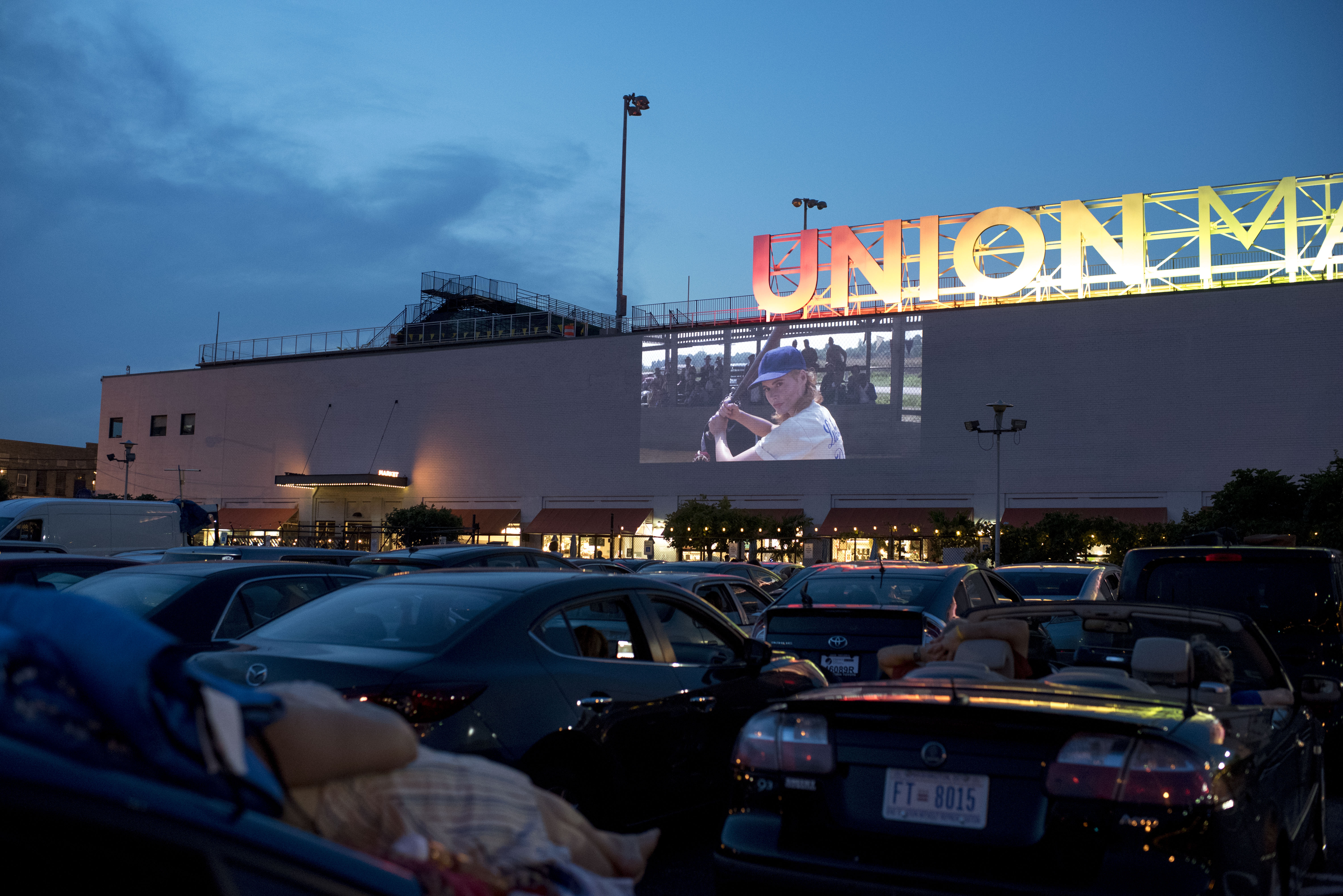 DC Gives Permission to Open 2 Drive-In Movie Theaters