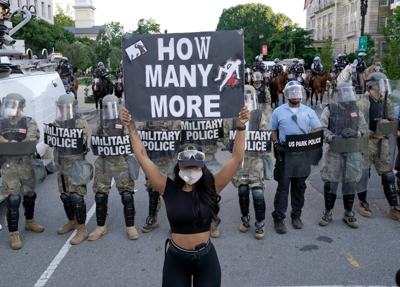 Photos: Protests, Unrest in DC Following George Floyd's Death