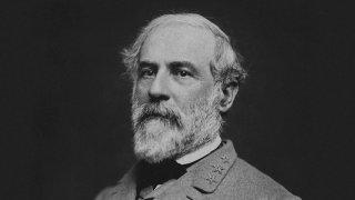 Vintage Civil War photo of Confederate Civil War General Robert E. Lee