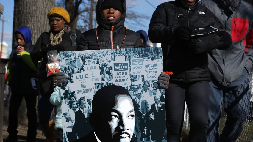 MLK Day Peace Walk