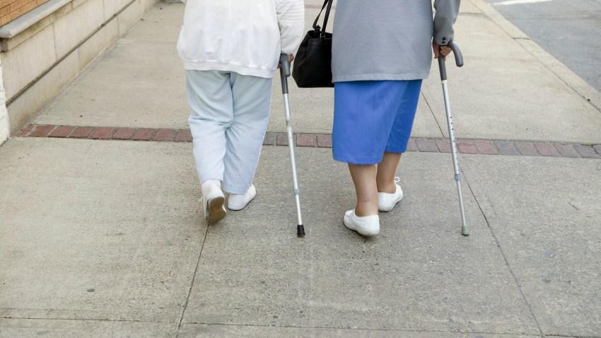 senior pedestrian