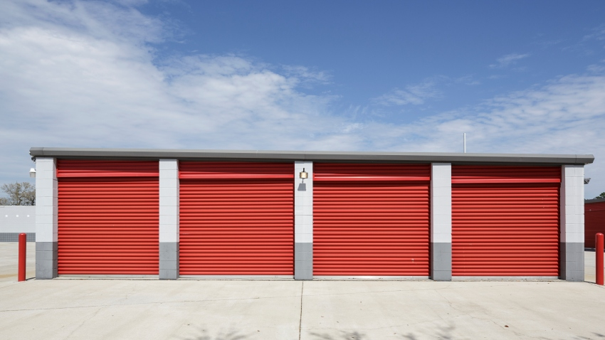 File photo of a self-storage facility