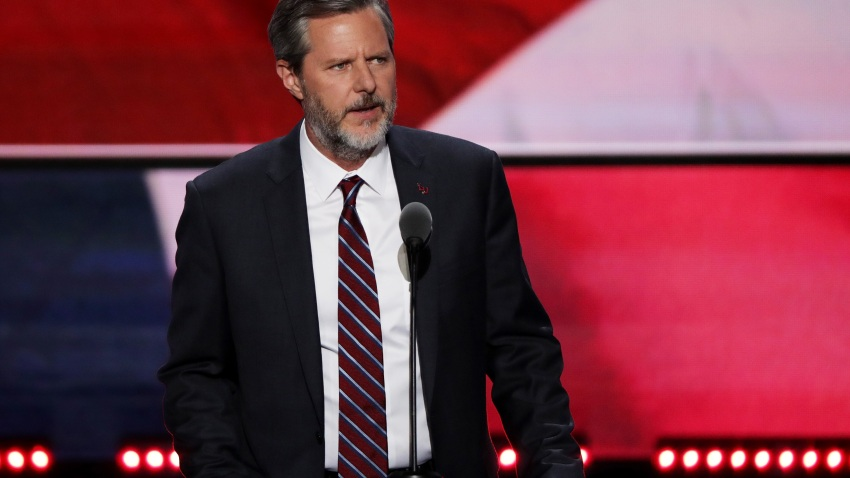 President of Liberty University, Jerry Falwell Jr.