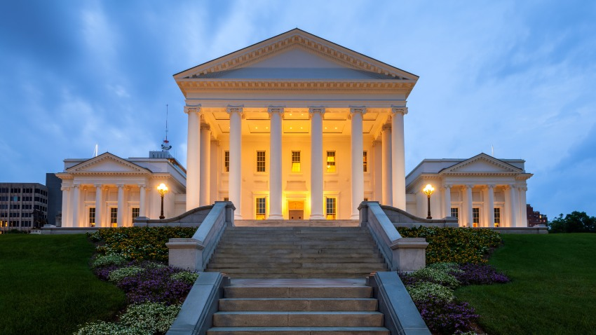 Virginia State Capitol, Richmond, Virginia