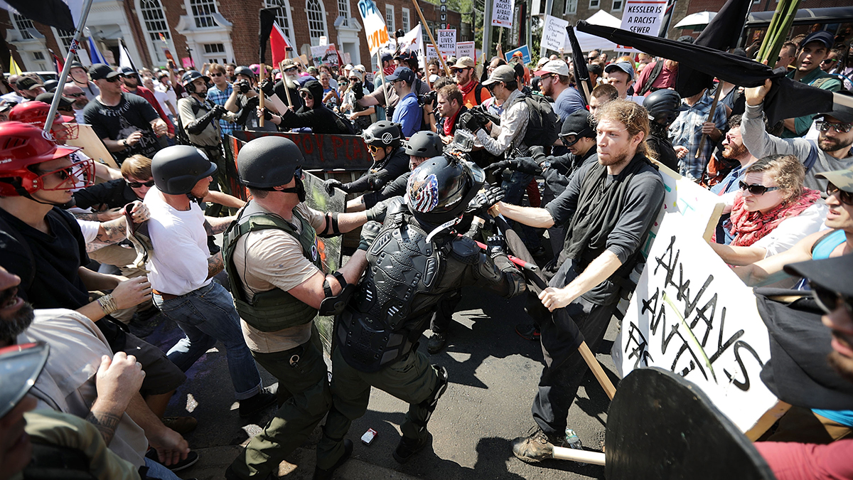 Arrest Warrant Issued for Neo-Nazi Podcaster in Charlottesville Rally Lawsuit