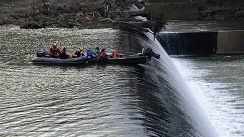 Goose Creek Reservoir Dam Rescue 1