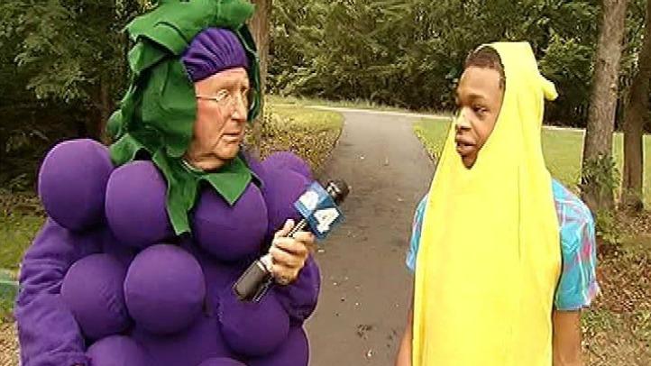 Grape Pat Collins With Banana Man