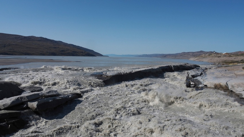 Greenland Melting Ice