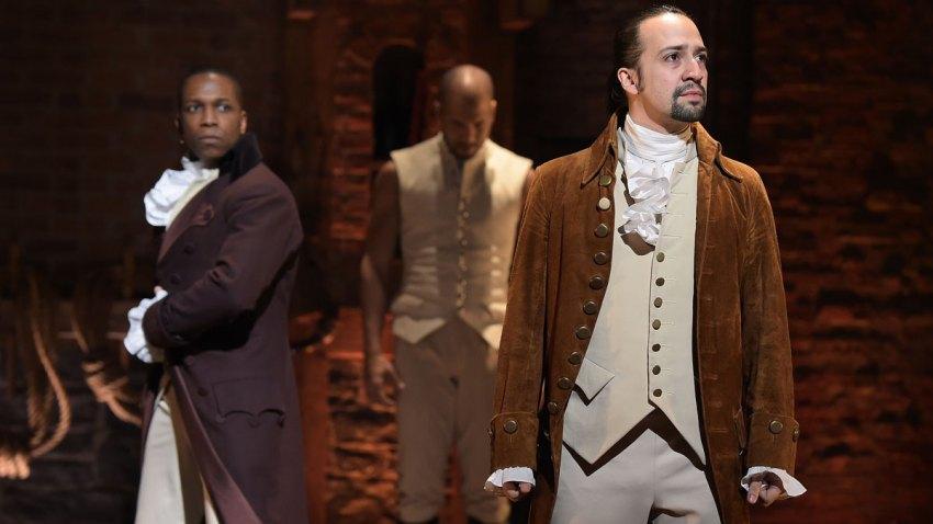 Hamilton Broadway Play