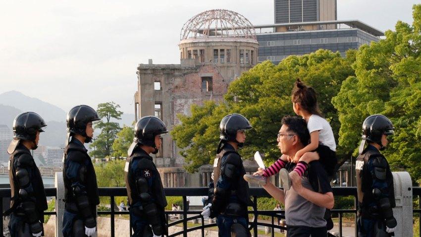 APTOPIX Japan Hiroshima Obama