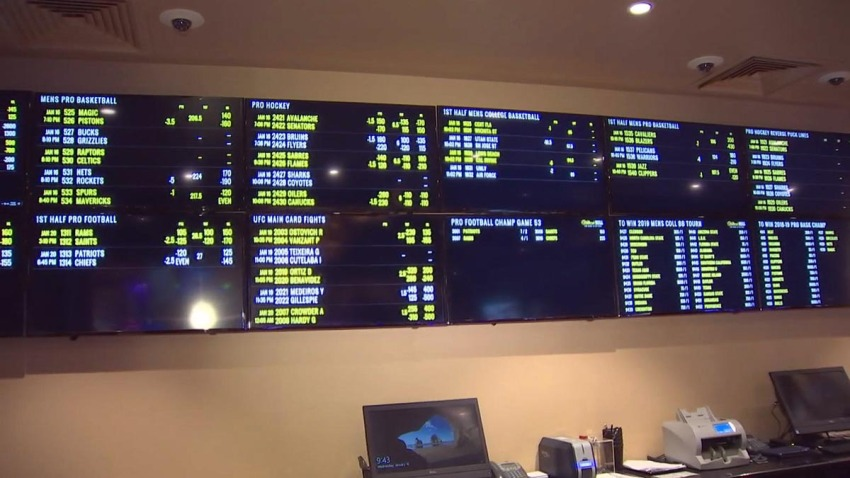 Hollywood Casino Sports Book 011619