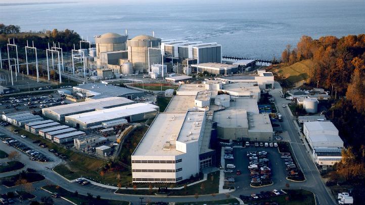 Hurricane Irene Calvert Cliffs Power Plant Maryland