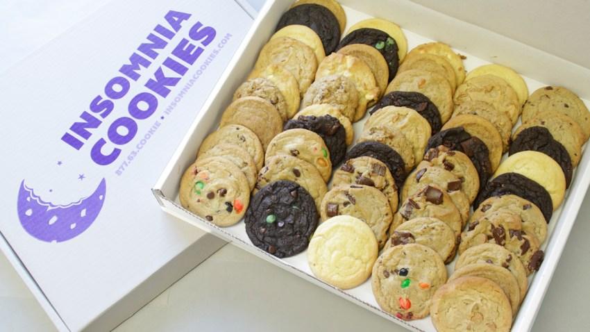 Insomnia Cookies 50 box