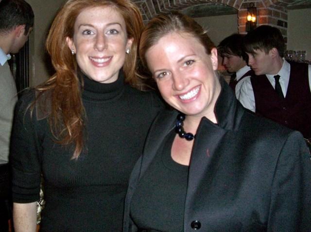 Jayne Sandman and Christina Wilke