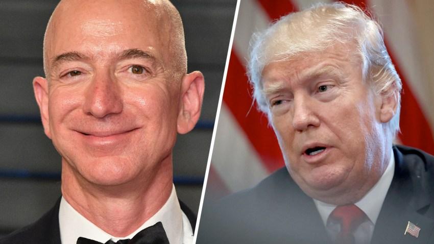 Jeff-Bezos-Donald-Trump