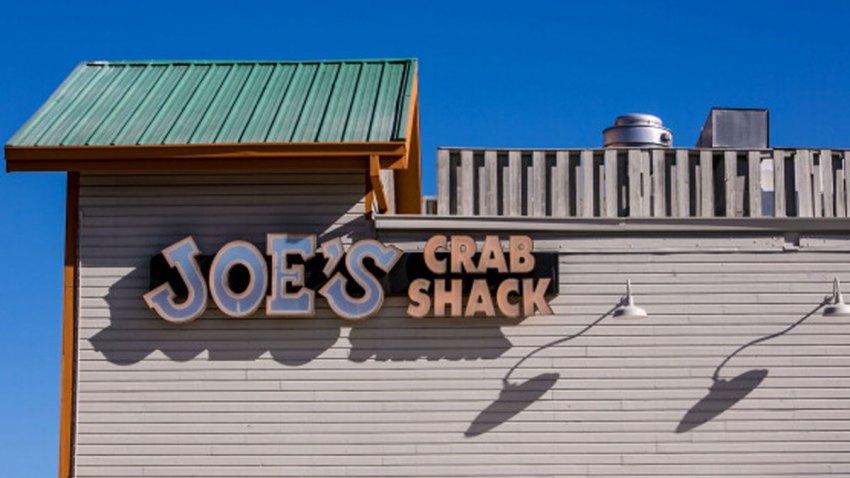 The entrance to Joe's Crab Shack at Fisherman's Wharf is viewed on April 15, 2013, in San Francisco, California.
