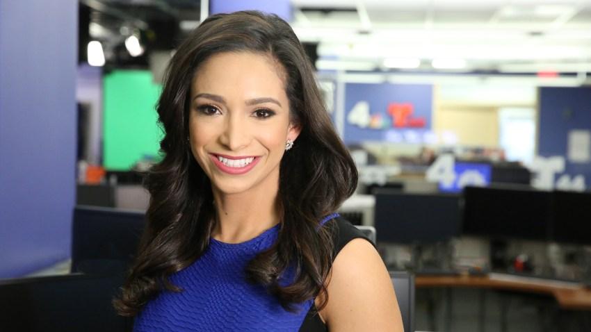 News4 reporter Juliana Valencia