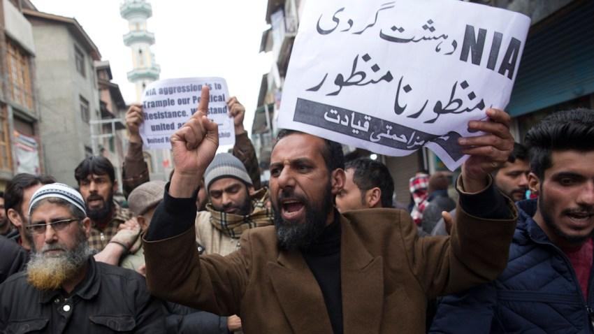 India Kashmir Crackdown
