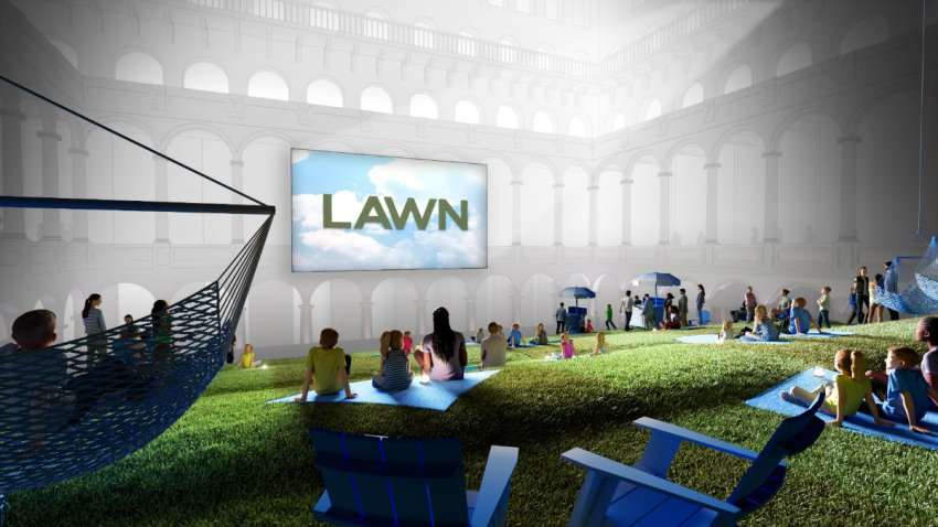 Lawn Movie Night national building museum