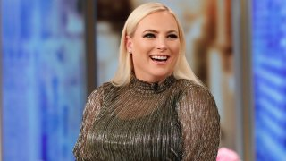 """In this May 15, 2019, file photo, Meghan McCain appears as co-host of """"The View."""""""