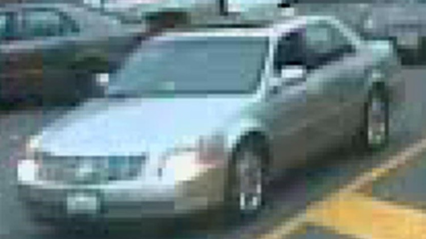 McDonalds Hit-and-Run Suspect Vehicle 1
